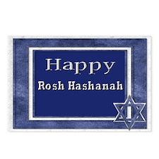happy rosh hashanah Postcards (Package of 8)