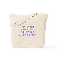 Heart of a Hunter Tote Bag