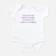 Heart of a Warrior Infant Bodysuit
