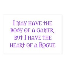 Heart of a Rogue Postcards (Package of 8)