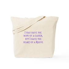 Heart of a Rogue Tote Bag