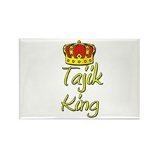 Tajik King Rectangle Magnet