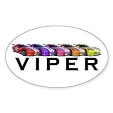 Dodge Viper Oval Decal