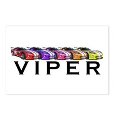 Dodge Viper Postcards (Package of 8)