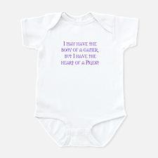 Heart of a Priest Infant Bodysuit