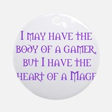 Heart of a Mage Ornament (Round)