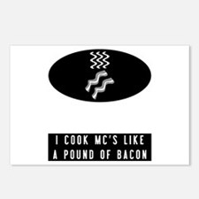 Cooked Like Bacon Postcards (Package of 8)
