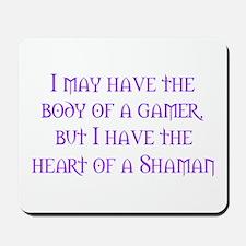 Heart of a Shaman Mousepad