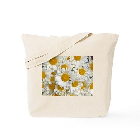 Daisy Mums Tote Bag