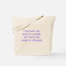 Heart of a Paladin Tote Bag