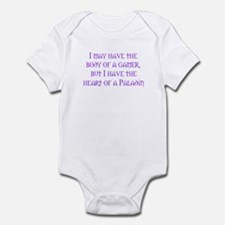 Heart of a Paladin Infant Bodysuit