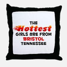 Hot Girls: Bristol, TN Throw Pillow