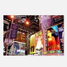 Broadway at Night Postcards (Package of 8)