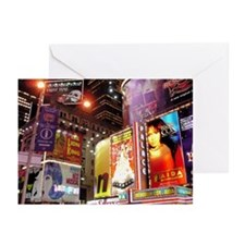 Broadway at Night Greeting Cards (Pk of 10)