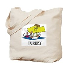 Turkey Fun Country Tote Bag