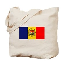 Moldova Flag Tote Bag
