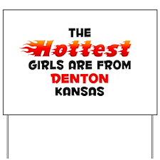 Hot Girls: Denton, KS Yard Sign