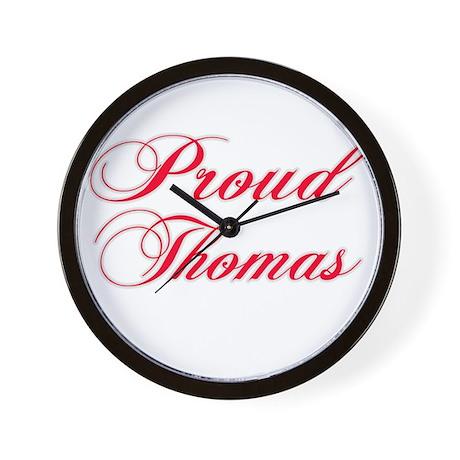 Proud Thomas Wall Clock