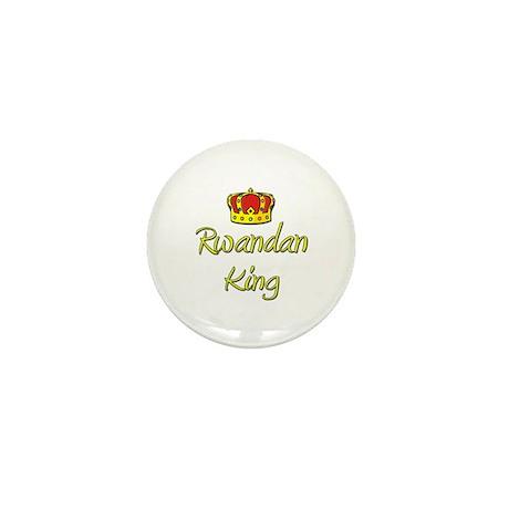 Rwandan King Mini Button