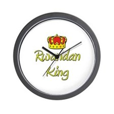 Rwandan King Wall Clock