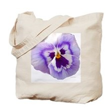 Purple Pansy Tote Bag