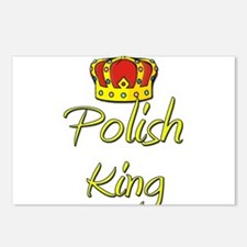 Polish King Postcards (Package of 8)