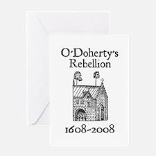 O'Doherty 1608-2008 Greeting Card