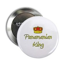 "Panamanian King 2.25"" Button"
