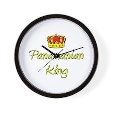 Panamanian King Wall Clock