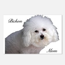 Bichon Mom Postcards (Package of 8)