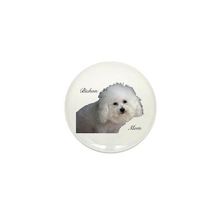 Bichon Mom Mini Button (100 pack)