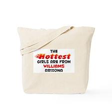 Hot Girls: Williams, AZ Tote Bag