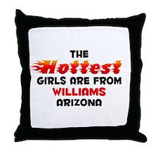 Hot Girls: Williams, AZ Throw Pillow
