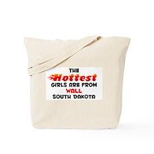 Hot Girls: Wall, SD Tote Bag