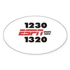 ESPN Oval Decal