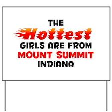Hot Girls: Mount Summit, IN Yard Sign