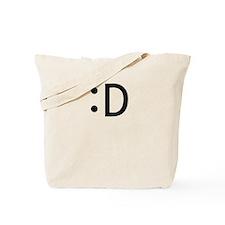 :D Tote Bag