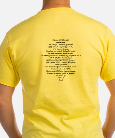 Shima-Gais T (definition on back)