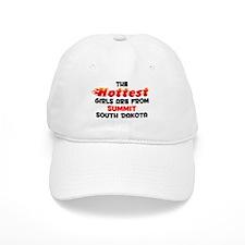 Hot Girls: Summit, SD Baseball Cap