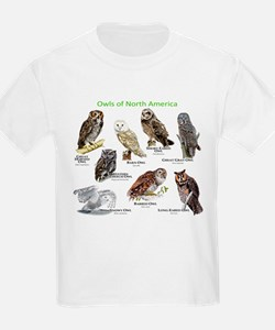 Owls of North America T-Shirt