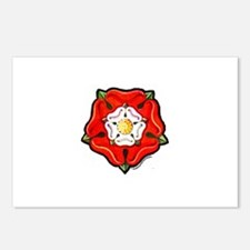 Single Tudor Rose Postcards (Package of 8)