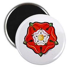Single Tudor Rose Magnet
