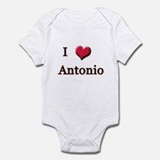 I Love (Heart) Antonio Infant Bodysuit