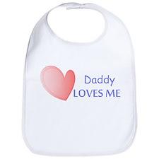 Daddy Loves Me Bib