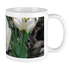 White Tulips Small Mug