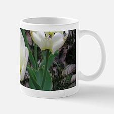 White Tulips Small Small Mug