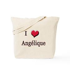 I Love (Heart) Angelique Tote Bag