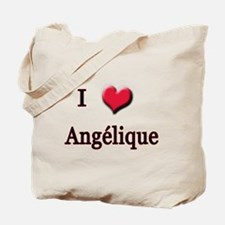 I Love (Heart) Angelique Tote Bag