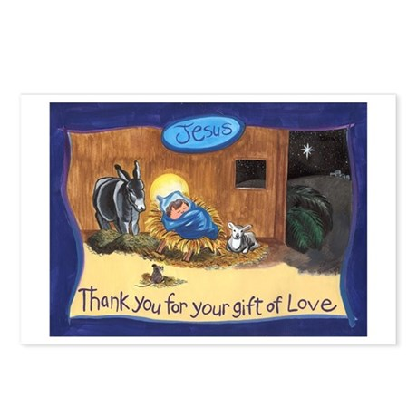 Thank You Baby Jesus Postcards (Package of 8)