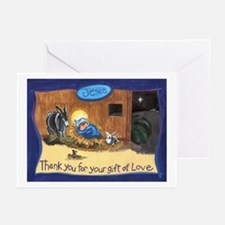 Thank You Baby Jesus Greeting Cards (Pk of 10)